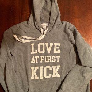 Love at 1st Kick Hoodie